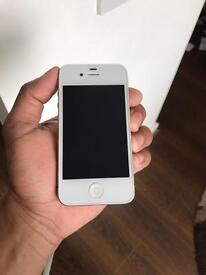 iPhone 4s 16gb unlocked to all network. Good condition