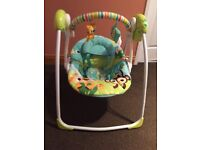 Bright stars baby swing (battery operated)
