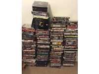 200 DVD's for sale - 1 JOB LOT