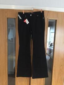Brand new tall ladies jeans with tags. Sizes 14 and 16, skinny fit and bootcut