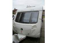 2009 SWIFT CONQUEROR 480 2 BERTH SERVICED MARCH 2017 EXCELLENT CONDITION WITH MOTOR MOVER £8988.00