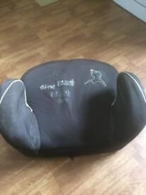 Mothercare Black Booster Seat