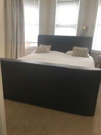 Super King TV Bed