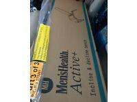BRAND NEW BENCH (INCLINE/DECLINE) + 35kg dumbbells/bar