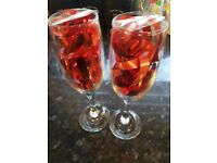 2 new prosecco / champagne glasses