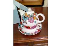 Grace's Teaware Floral Teapot for One