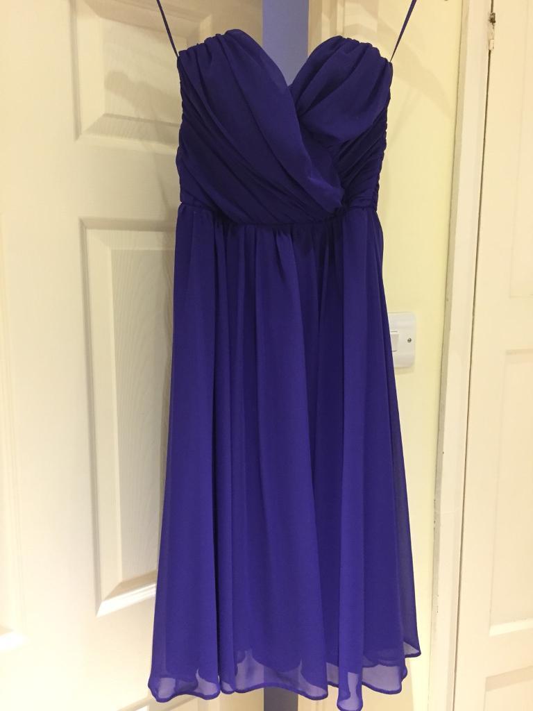 Uk Size 10 Purple Asos Dress | in Penarth, Vale of Glamorgan | Gumtree