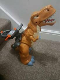 Large Moving Imaginext T-Rex