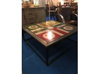 Designer by Andrew Martin of London , Giant Oversize Ludo Coffee Table rrp £795