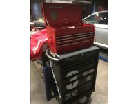 Snap on tool box mac tools box chest roll cab britool