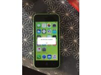 Apple iPhone 5c green ee orange t mobile virgin can unlock open