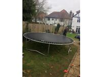 10ft Trampoline with BRAND NEW NET