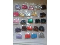 24 x new womens small colourful purse for sale