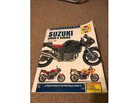 Suzuki SV650 & SV650S Haynes Manual 99 - 08