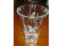 Royal Doulton Crystal Vase - Never Used