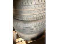 4 x Michelin 225/45 r17 tires
