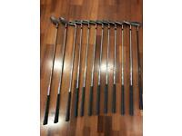 Oversize/extra long golf clubs (tall person) full set with bag, trolley, balls, glove etc
