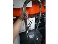 Sliver pull out spout tap.