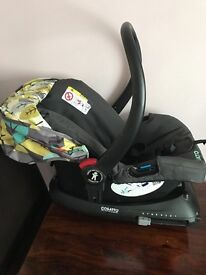 Cosatto car seat and ISOfix car seat base