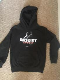 Boys Call of Duty hoodie age 9-11 Xbox PS4