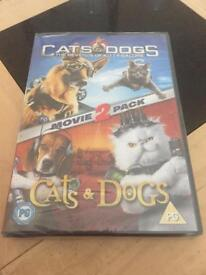 Cats and dogs 1 and 2 double dvd