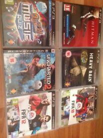 6 PlayStation 3 games