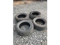 Rav4 2000-2006 mk2 Tyres (4) 235/60R16