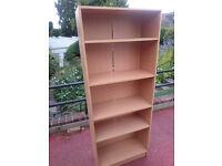 Oak Bookcase 3 moveable shelves, 1760mm x 685mm x 300mm