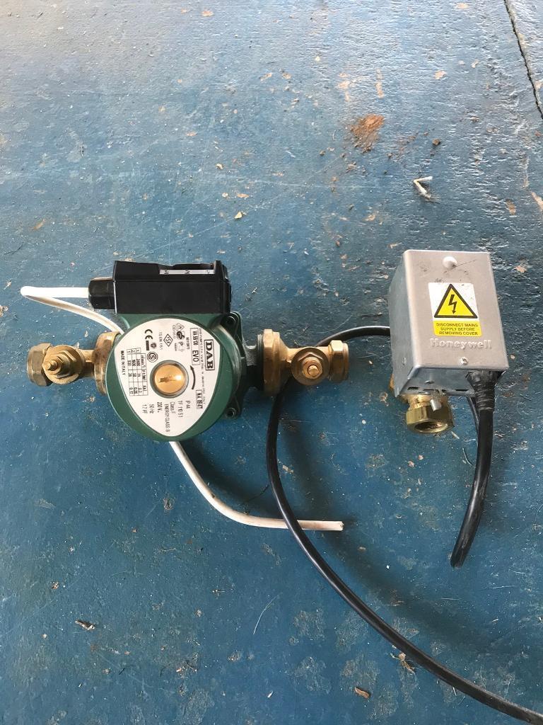 Central heating pump and 3 port valve | in Kings Lynn, Norfolk | Gumtree