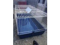 Rabbit cage used