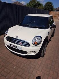 Mini cooper limited edition mayfair