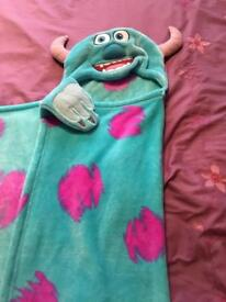 Disney monsters inc blanket