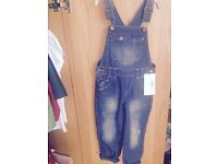 M&s boys dungarees 2-3 years