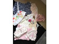 6-12 month baby girl bundle of clothes