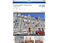 77 Urquhart Road Aberdeen, AB24 5ND, fully furnished one bedroom flat for