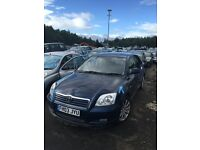 TOYOTA AVENSIS BREAKING ALL PARTS AVAILABLE