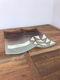 New Handmade Murano Glass Dish