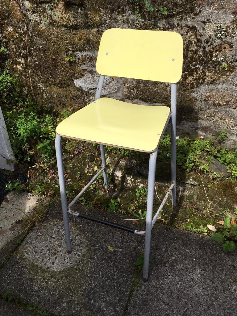 Stool, chair, science style stool.