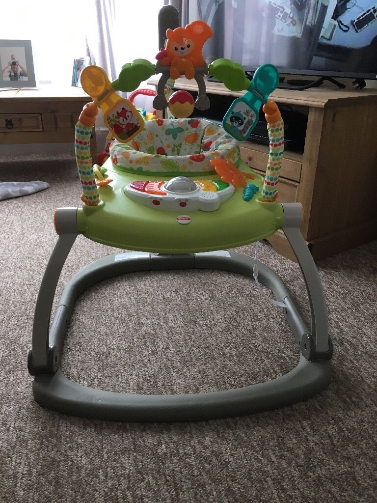 Fisherprice jumperoo for sale in plymouth devon gumtree for Door jumperoo