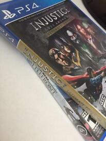 2 PS4 Games / Injustice and Battlefront \ Worth £15.50