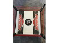 WWE wrestling ring with 40+ Characters plus 30 Years of wrestling book