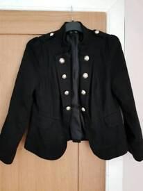 Women's Military Style Jacket Size 16