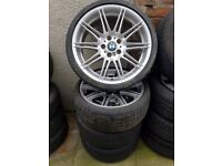 Original Bmw Mv4 Alloy Wheels 19'' Can Post Can Sell Singles Part Exchange Welcome