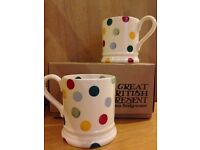 Emma Bridgewater (two polka dot mugs)