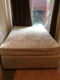 Double bed with mattress collection only