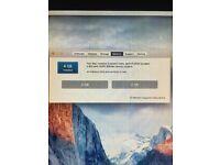 20 inch iMac 4GB ram, El Capitan OSX
