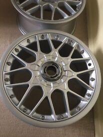 4 genuine germany bbs alloys