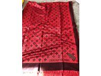 LV style scarf shawl