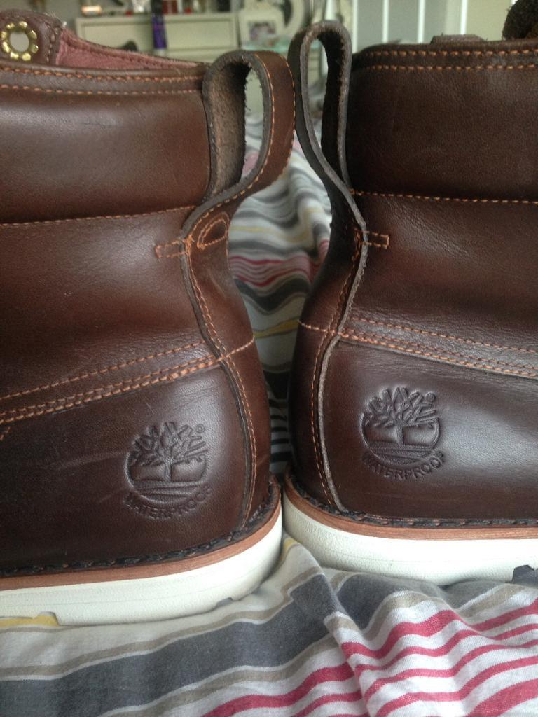 size 7.5 timberland earthkeepers worn once