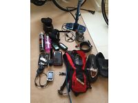 £300 no offers-Fantastic bike package including 2 bikes and accessories - man and woman's bike